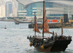 Duk Ling - a traditional Chinese junk