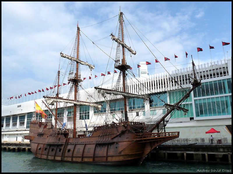 Galeon Andalucia - an ancient Spanish tall ship